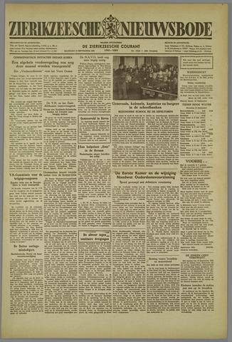 Zierikzeesche Nieuwsbode 1952-09-15