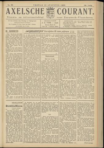 Axelsche Courant 1938-08-19