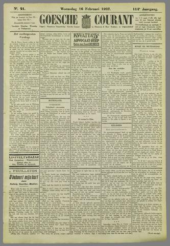 Goessche Courant 1927-02-16