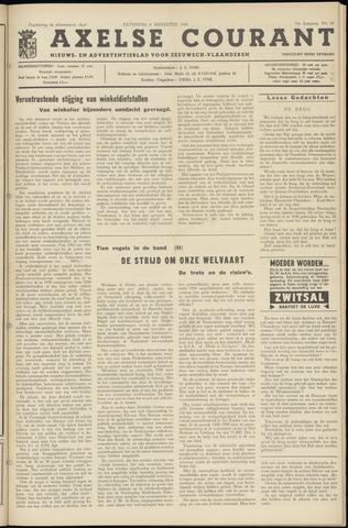 Axelsche Courant 1960-08-06