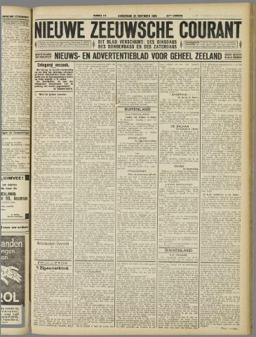 Nieuwe Zeeuwsche Courant 1926-11-25
