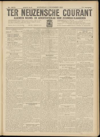 Ter Neuzensche Courant. Algemeen Nieuws- en Advertentieblad voor Zeeuwsch-Vlaanderen / Neuzensche Courant ... (idem) / (Algemeen) nieuws en advertentieblad voor Zeeuwsch-Vlaanderen 1937-11-03
