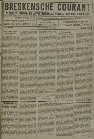 Breskensche Courant 1922-10-18