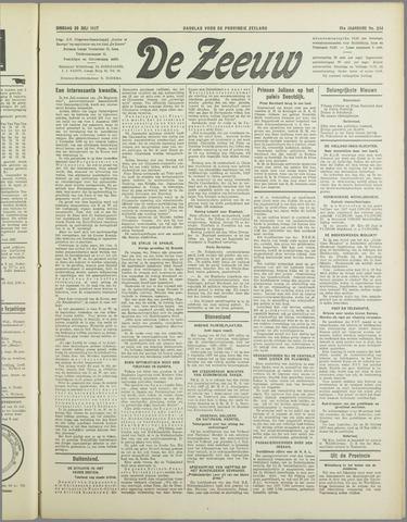 De Zeeuw. Christelijk-historisch nieuwsblad voor Zeeland 1937-07-20