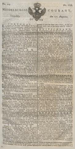 Middelburgsche Courant 1776-08-27