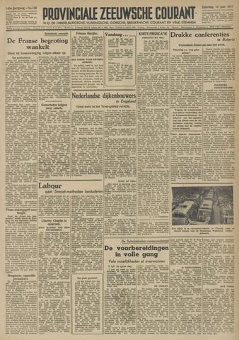 Provinciale Zeeuwse Courant 1947-06-14