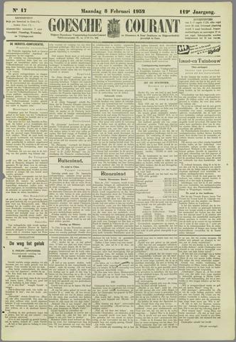 Goessche Courant 1932-02-08