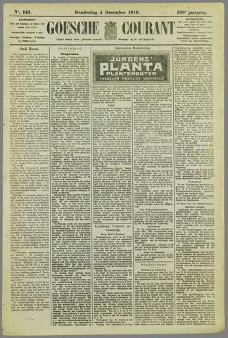 Goessche Courant 1919-12-04