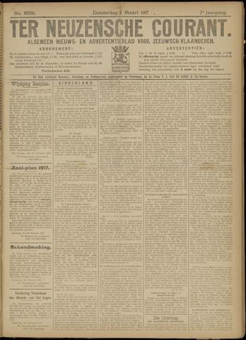 Ter Neuzensche Courant. Algemeen Nieuws- en Advertentieblad voor Zeeuwsch-Vlaanderen / Neuzensche Courant ... (idem) / (Algemeen) nieuws en advertentieblad voor Zeeuwsch-Vlaanderen 1917-03-01