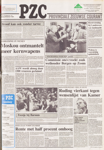 Provinciale Zeeuwse Courant 1989-01-20