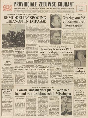 Provinciale Zeeuwse Courant 1969-10-27