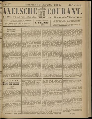 Axelsche Courant 1917-08-15