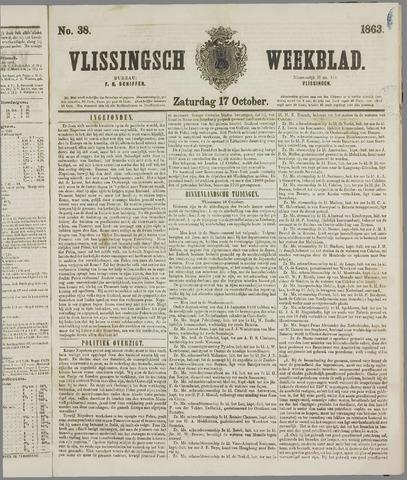 Vlissings Weekblad 1863-10-17