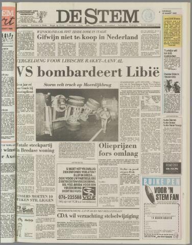de Stem 1986-03-25