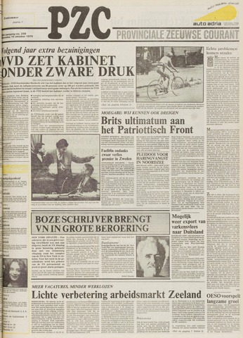 Provinciale Zeeuwse Courant 1979-10-10