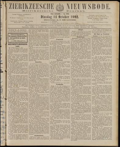 Zierikzeesche Nieuwsbode 1902-10-14