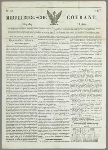 Middelburgsche Courant 1857-05-12