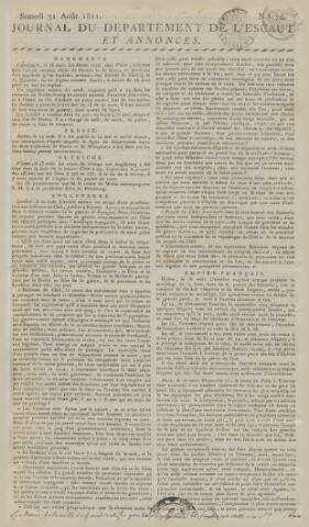 Middelburgsche Courant 1811-08-31