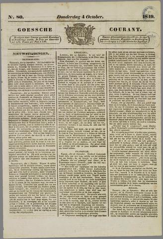 Goessche Courant 1849-10-04