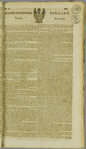 Middelburgsche Courant 1817-06-24