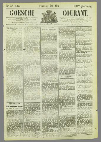 Goessche Courant 1913-05-20
