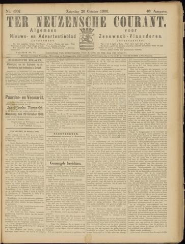 Ter Neuzensche Courant. Algemeen Nieuws- en Advertentieblad voor Zeeuwsch-Vlaanderen / Neuzensche Courant ... (idem) / (Algemeen) nieuws en advertentieblad voor Zeeuwsch-Vlaanderen 1906-10-20
