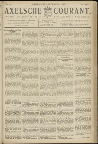 Axelsche Courant 1925-09-25