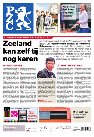 Provinciale Zeeuwse Courant 2016-06-03