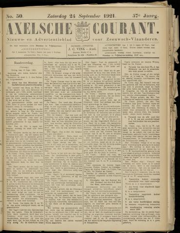 Axelsche Courant 1921-09-24
