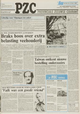 Provinciale Zeeuwse Courant 1983-07-30