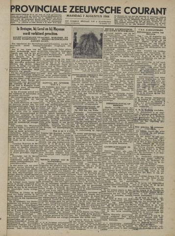 Provinciale Zeeuwse Courant 1944-08-07