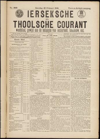 Ierseksche en Thoolsche Courant 1916-05-12