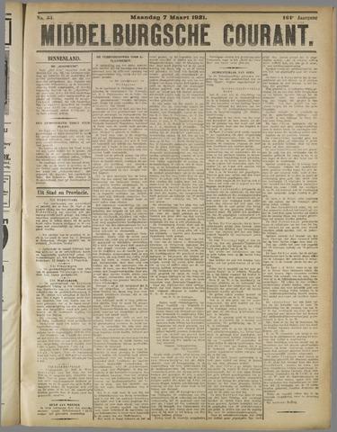 Middelburgsche Courant 1921-03-07