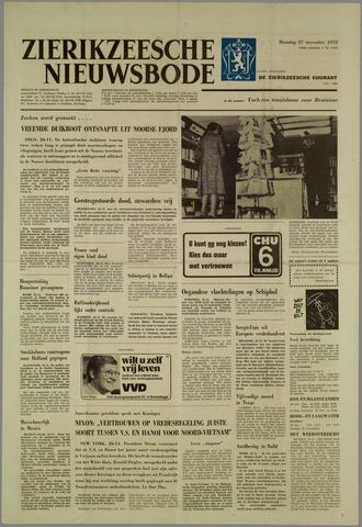 Zierikzeesche Nieuwsbode 1972-11-27