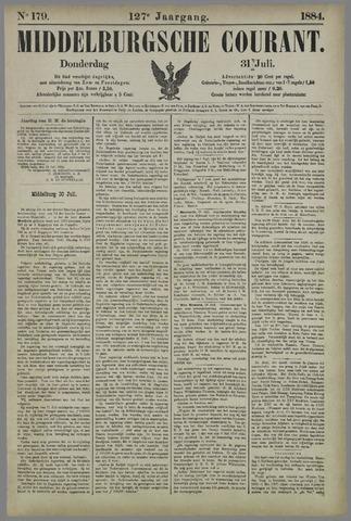 Middelburgsche Courant 1884-07-31