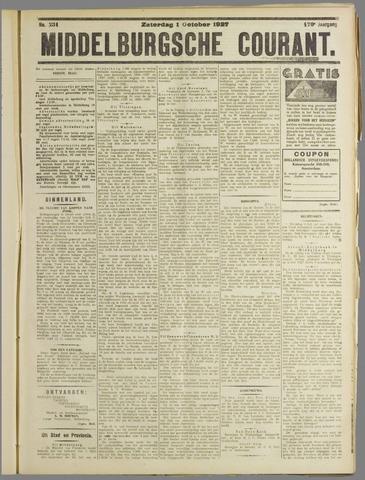 Middelburgsche Courant 1927-10-01