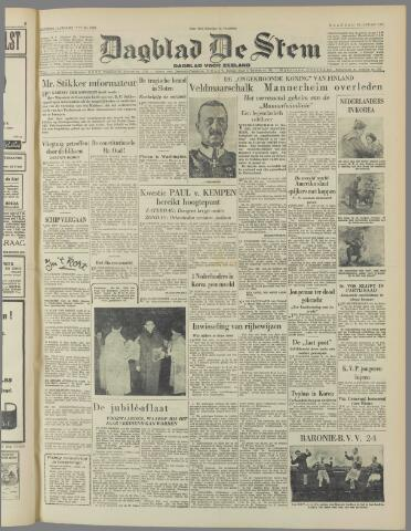 de Stem 1951-01-29