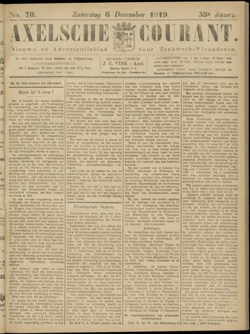 Axelsche Courant 1919-12-06