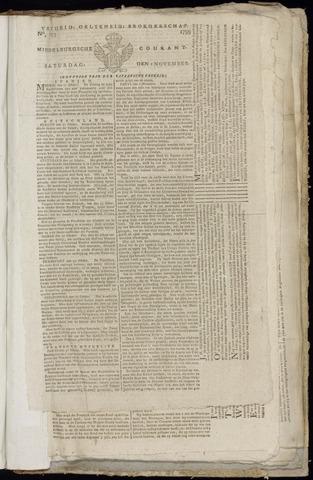 Middelburgsche Courant 1799-11-09