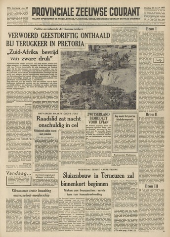 Provinciale Zeeuwse Courant 1961-03-21