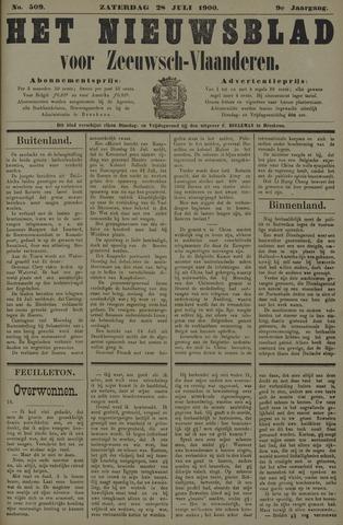 Nieuwsblad voor Zeeuwsch-Vlaanderen 1900-07-28