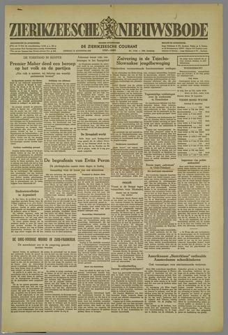 Zierikzeesche Nieuwsbode 1952-08-12