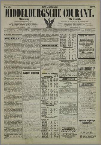 Middelburgsche Courant 1893-03-27