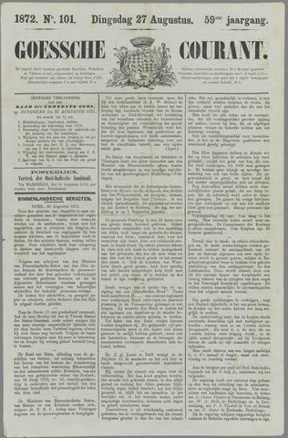 Goessche Courant 1872-08-27