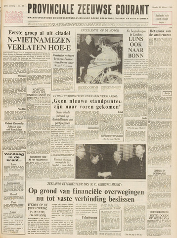 Provinciale Zeeuwse Courant 1968-02-20