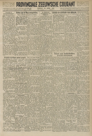 Provinciale Zeeuwse Courant 1945-04-24