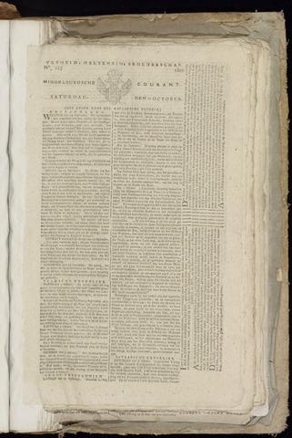 Middelburgsche Courant 1800-10-11