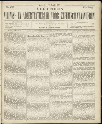 Ter Neuzensche Courant. Algemeen Nieuws- en Advertentieblad voor Zeeuwsch-Vlaanderen / Neuzensche Courant ... (idem) / (Algemeen) nieuws en advertentieblad voor Zeeuwsch-Vlaanderen 1870-06-18