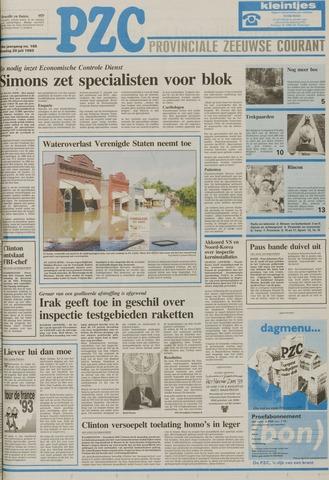 Provinciale Zeeuwse Courant 1993-07-20