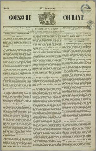 Goessche Courant 1856-01-17